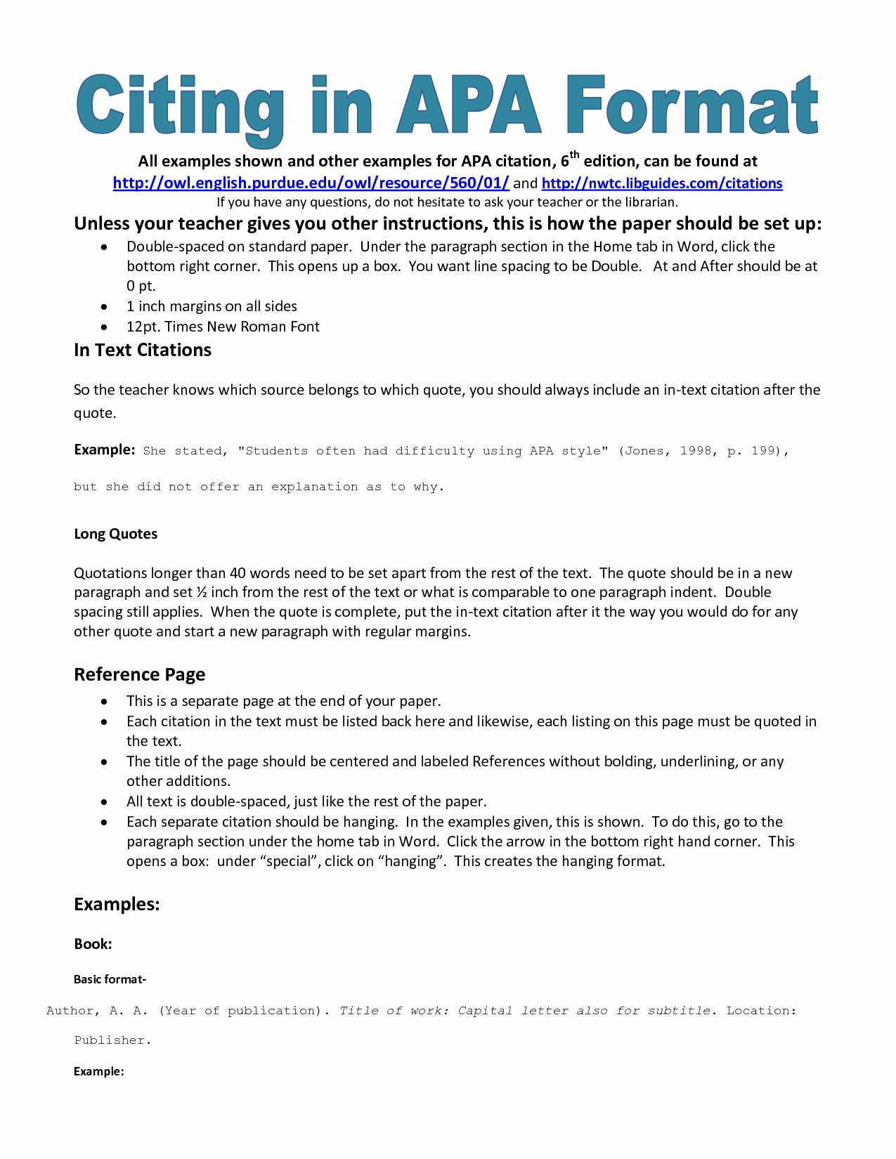 College Essay format Apa Awesome Example Of Apa Citation In Paper