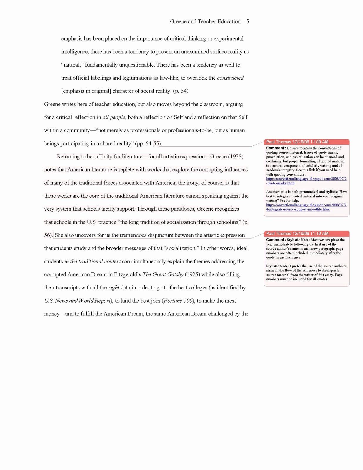 College Essay format Apa New Conventional Language