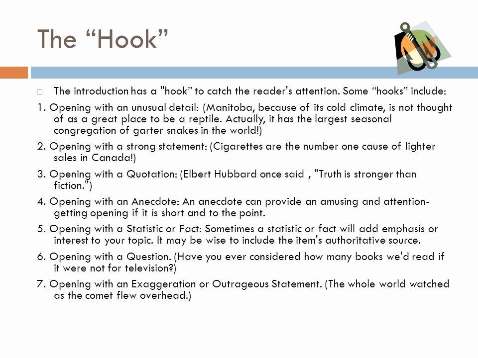 College Essay Hooks Examples Luxury Hook In A Essay Hepatitze