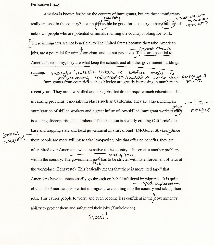 College Essay Hooks Examples New St Joseph Hospital Persuasive Essays