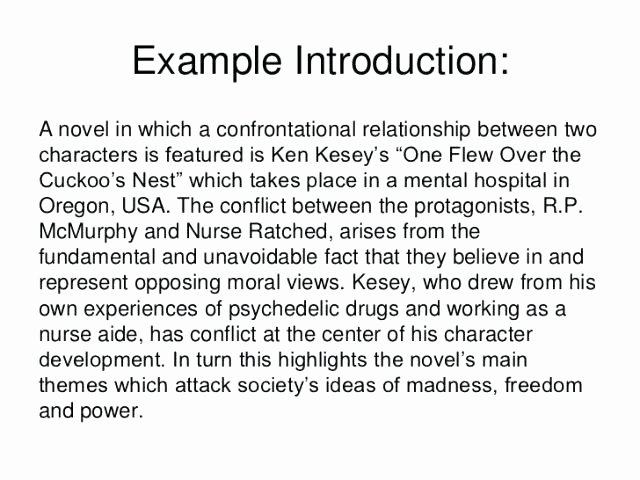 College Introduction Paragraph Examples Awesome Example Of Introduction In Essay – Trezvost