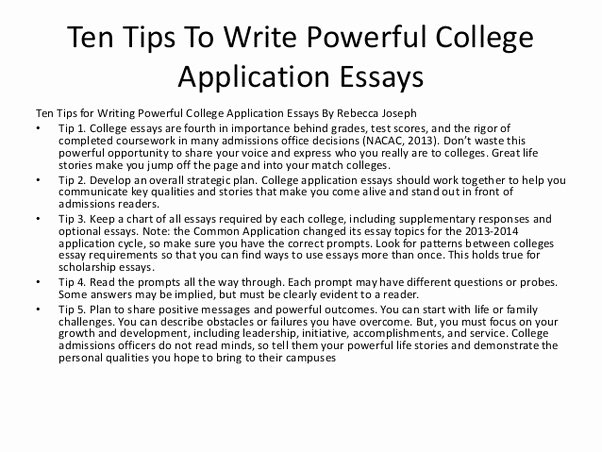 College Introduction Paragraph Examples Unique What are Good Websites for College Application Essay