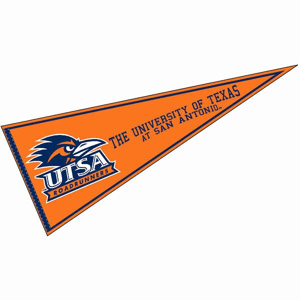 College Pennants Printable Awesome Utsa Roadrunners College Pennant and College Pennants for