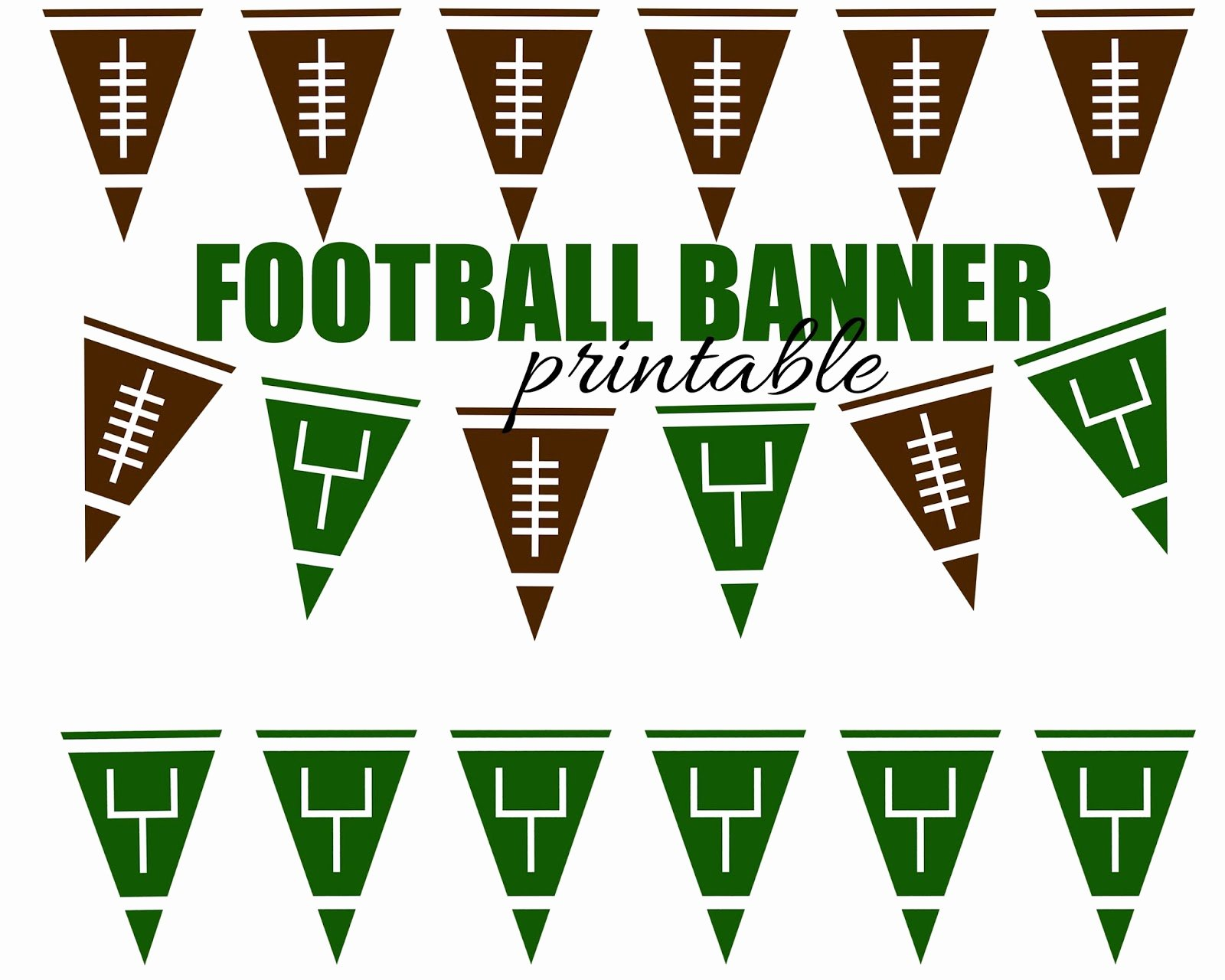 College Pennants Printable Best Of Football Subway Art Free Printable