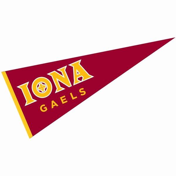 College Pennants Printable Elegant Iona College Pennant Your Iona College Pennants source