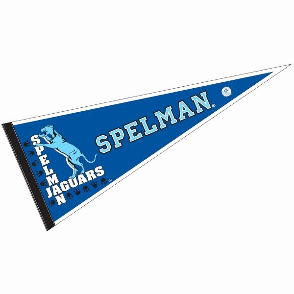 College Pennants Printable Elegant Spelman College Pennant Your Spelman College Felt Pennant