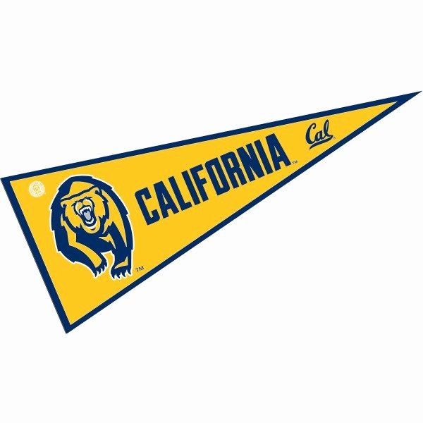 College Pennants Printable Elegant University Of California College Pennant and College