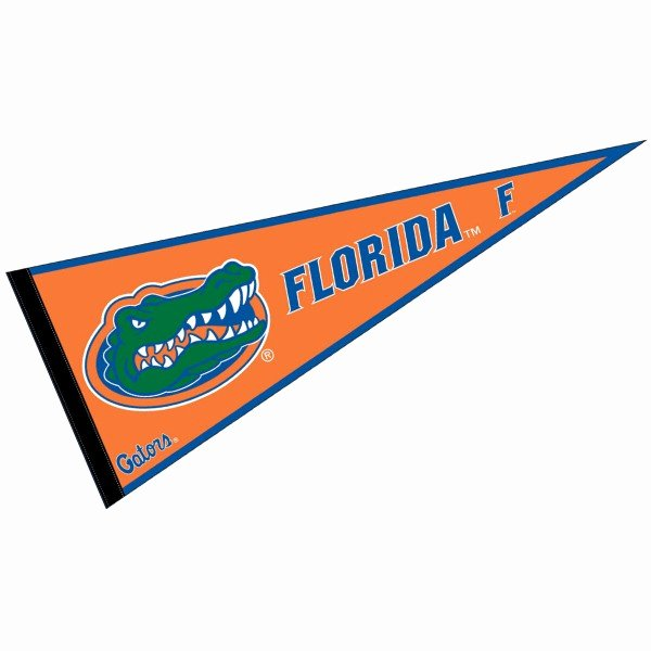 College Pennants Printable New Florida Gators Pennant Your Florida Gators Pennant source