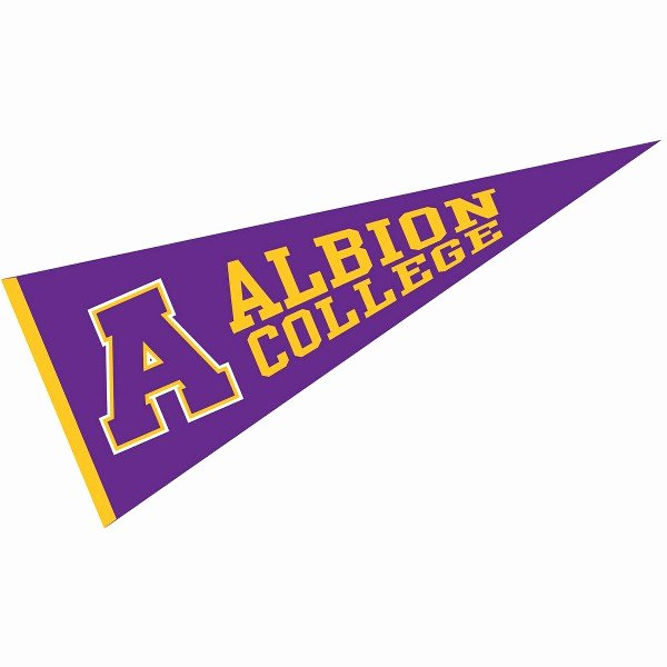 College Pennants Printable Unique Albion College Pennant Your Albion College Pennants source