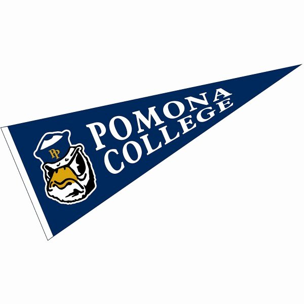 College Pennants Printable Unique Pomona College Pennant Your Pomona College Pennants source