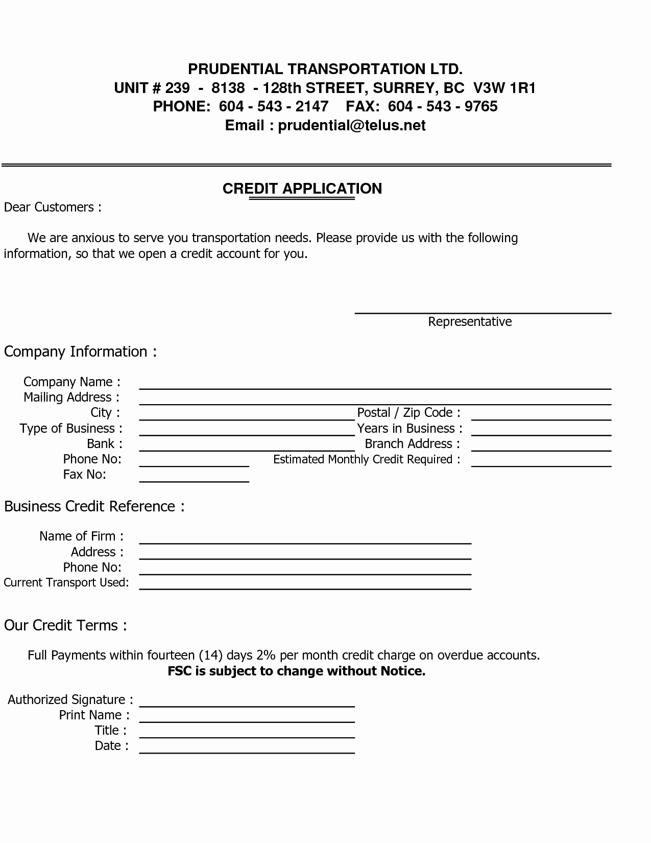 Commercial Credit Application Template Inspirational Sample Credit Reference Letter Template Images Business