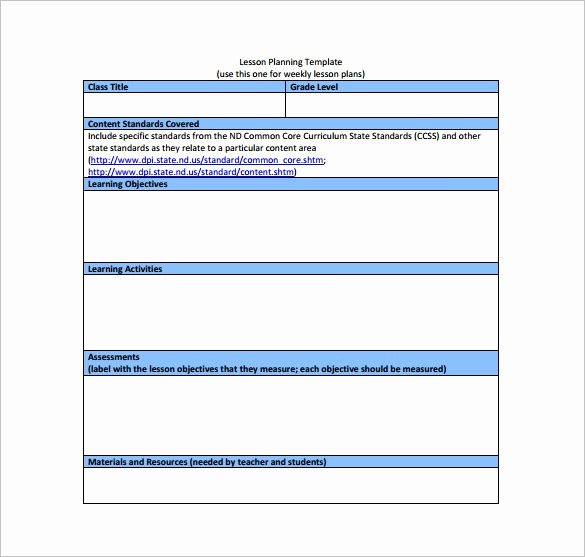 Common Core Lesson Plan Template Doc Elegant Mon Core Ela Lesson Plan Template – Mon Core Math
