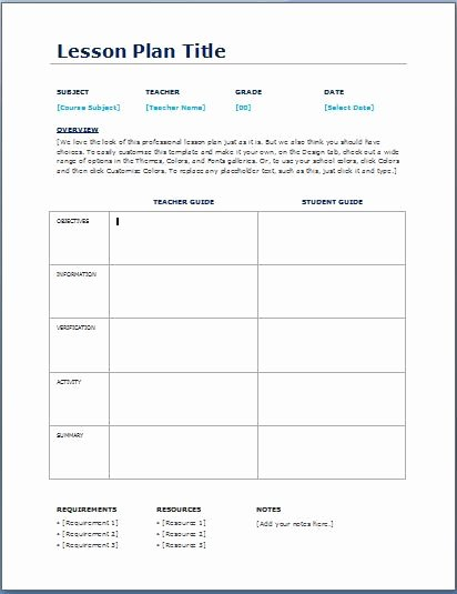 Common Core Lesson Plan Template Doc Lovely Teacher Daily Lesson Planner Template