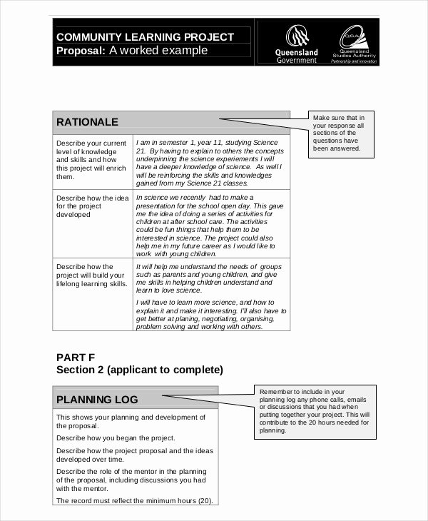 Community Project Proposal Inspirational 44 Project Proposal Examples Pdf Word Pages