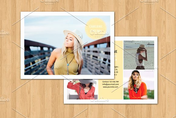 Comp Card Template Psd Download Awesome Model P Card Template V374 Flyer Templates On