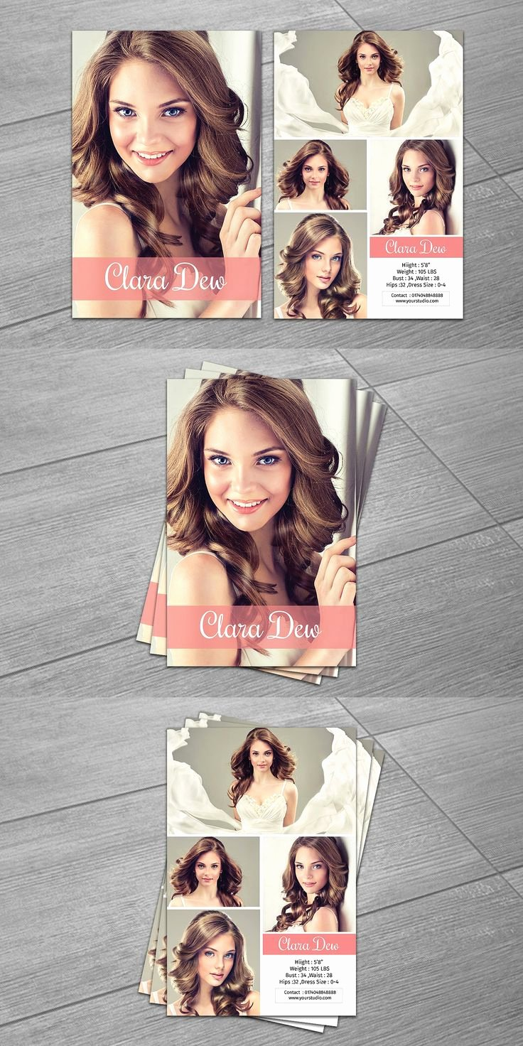 Comp Card Template Psd Download Best Of Best 25 Model P Card Ideas Only On Pinterest