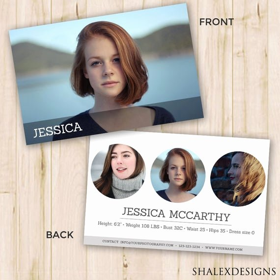 Comp Card Template Psd Download Inspirational Modeling P Card Modeling P Card Template Shop