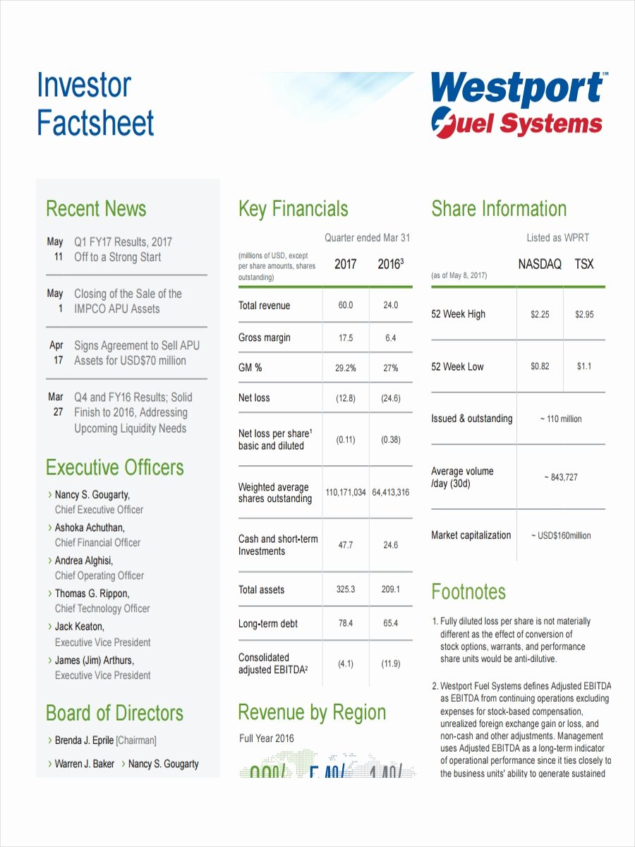 Company Fact Sheet Example Elegant 19 Examples Of Fact Sheets