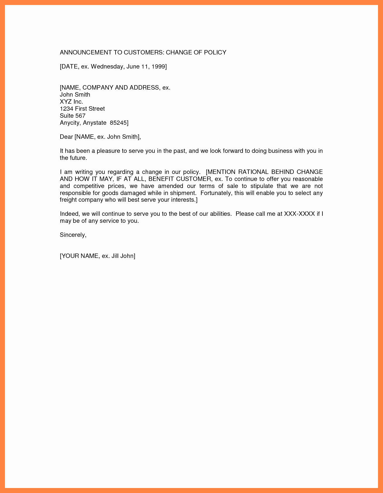 Company Name Change Letter Unique Change Ownership Letter Check Templates Free Sample