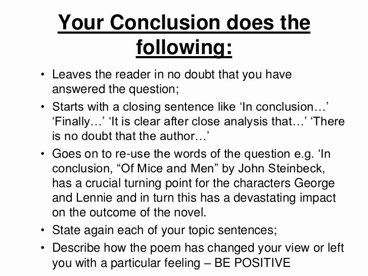 Comparative Critique Essay Example Best Of Conclusion Example for Essay