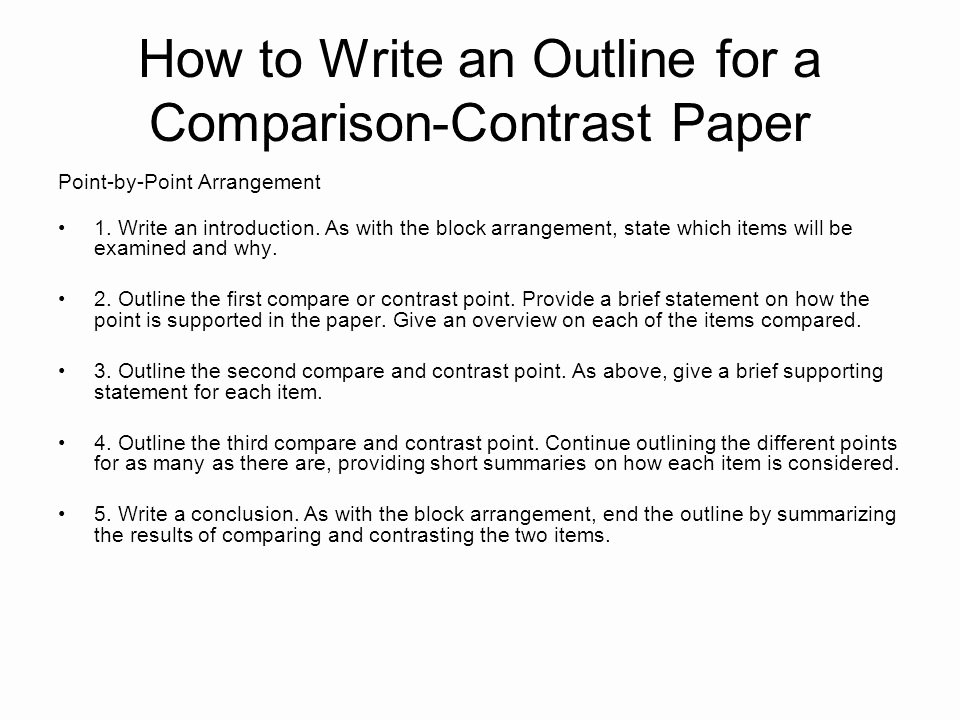 Compare and Contrast Conclusion Example Lovely English 10 and Honors English 10 Position Notes Ppt