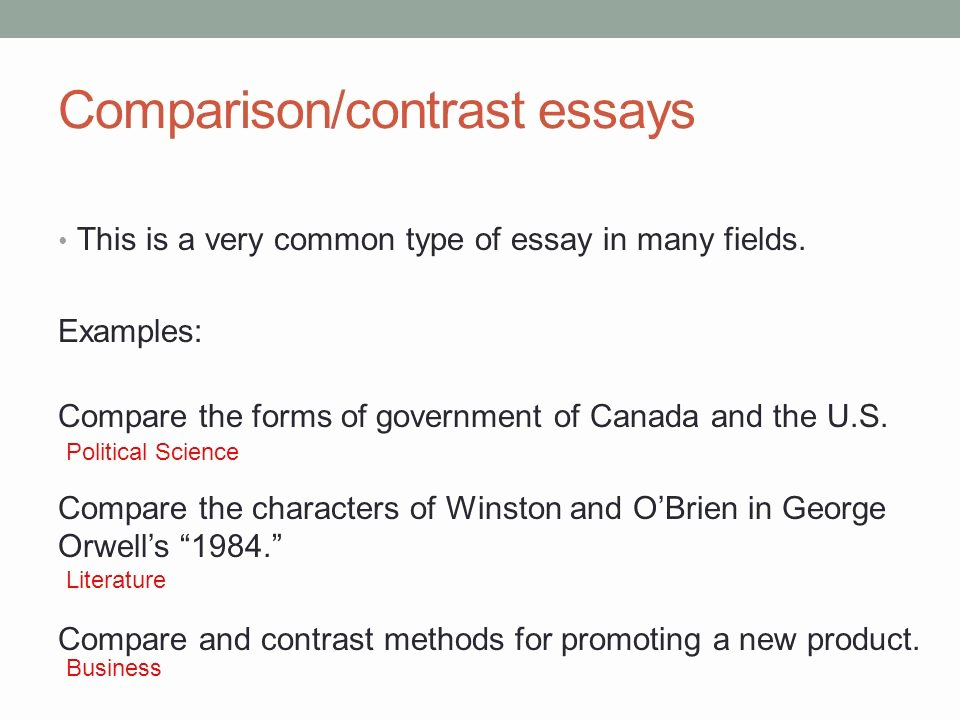 Compare and Contrast Conclusion Example Unique Academic Writing I April 12th Ppt Video Online