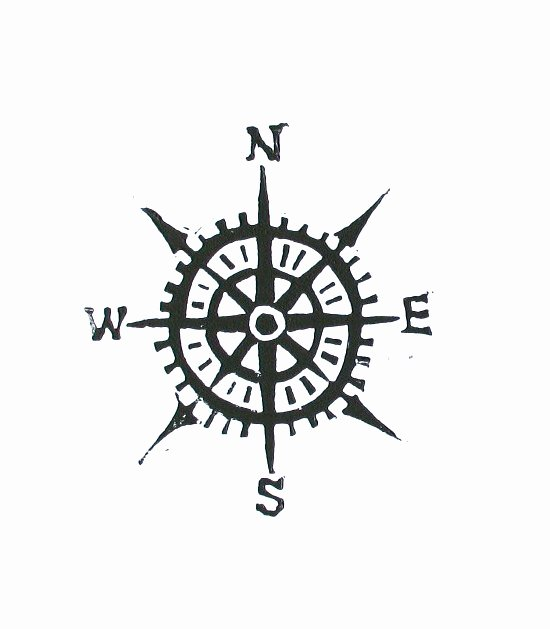 Compass Rose Print Out Best Of Pass Linocut Print Cardinal Directions by thebigharumph