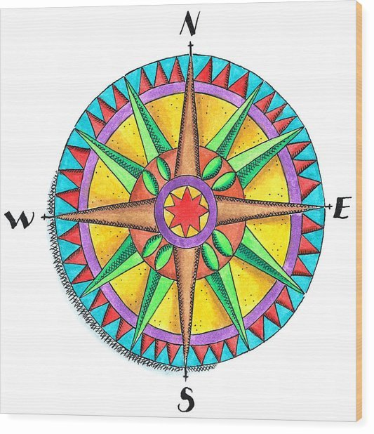 Compass Rose Print Out Best Of Pass Rose Digital Art by Jennifer thermes