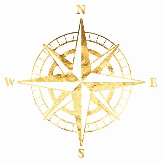 Compass Rose Print Out Best Of Pass Rose File Nautical Art Gold Foil Print Printable