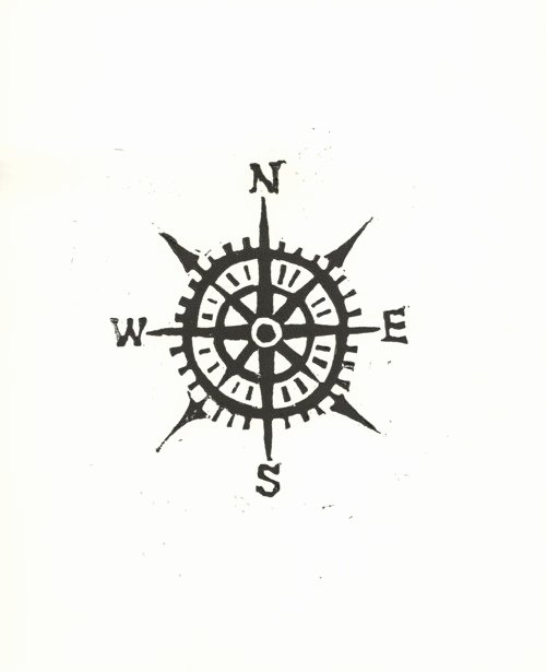 Compass Rose Print Out Elegant Pass Print
