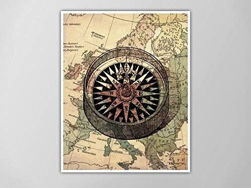 Compass Rose Print Out Lovely Amazon Pass Art Print Nautical Map Print