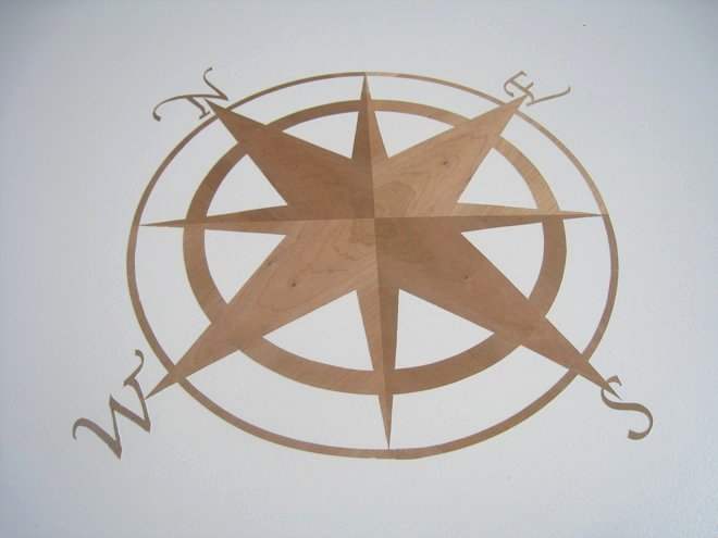 Compass Rose Print Out Luxury Reverse Stencil Pass Rose