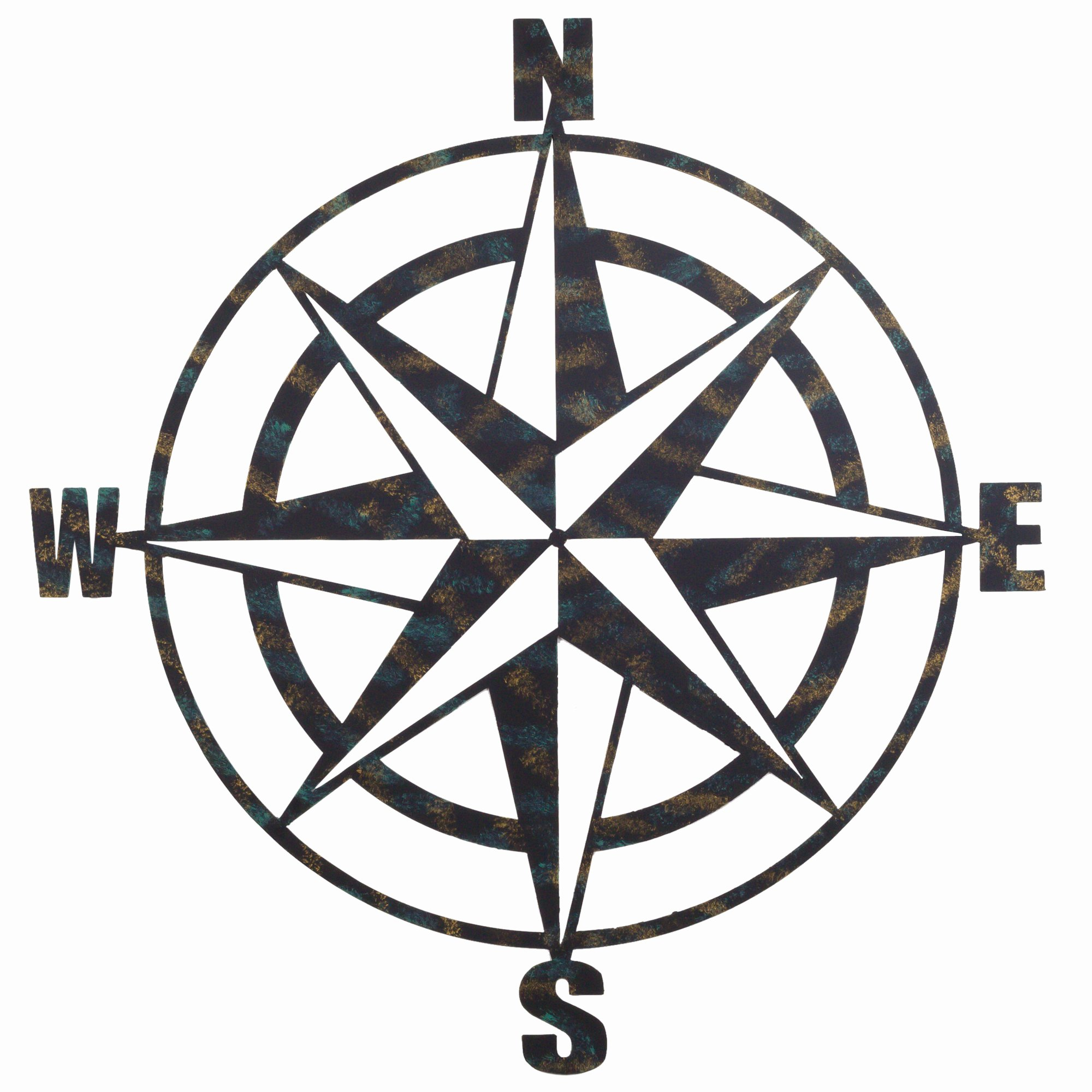 Compass Rose Print Out New Bayaccents Metal Pass Wall Décor & Reviews