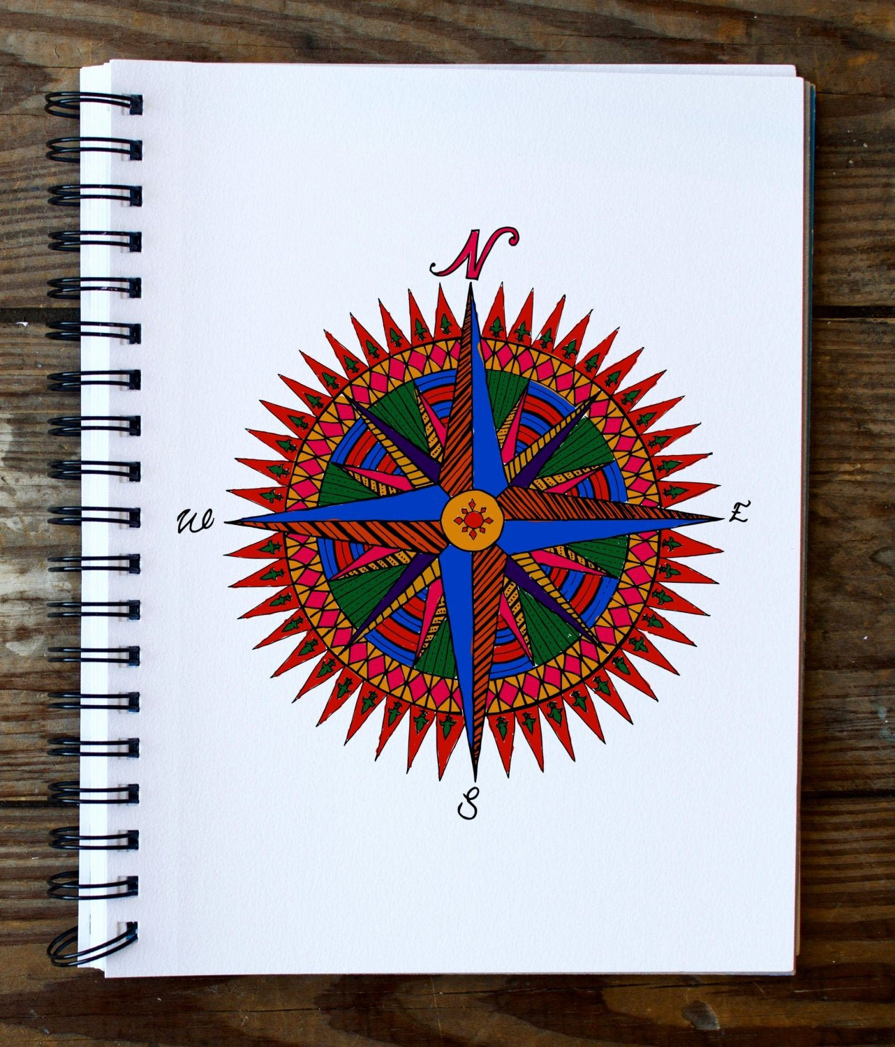 Compass Rose Print Out Unique Pass Rose Mandala Coloring Page Instant Pdf Download