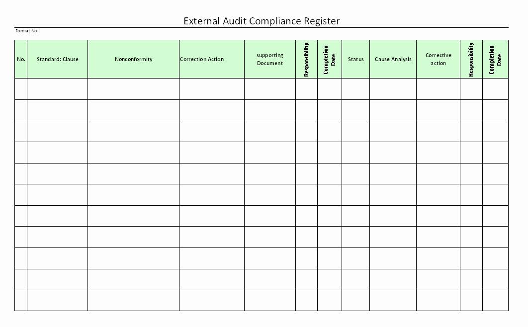Compliance Audit Report Template Beautiful Audit Templates