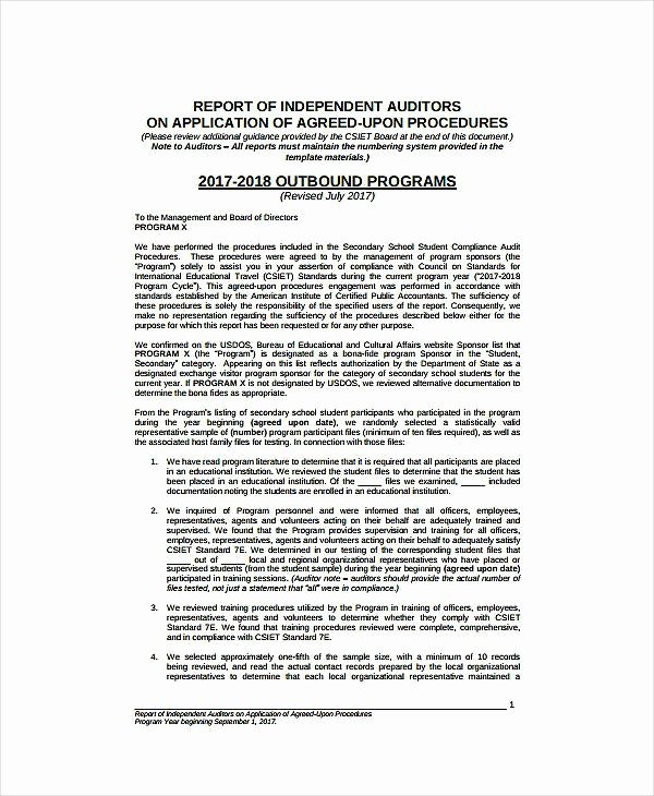 Compliance Audit Report Template Elegant 11 Pliance Audit Report Templates Pdf