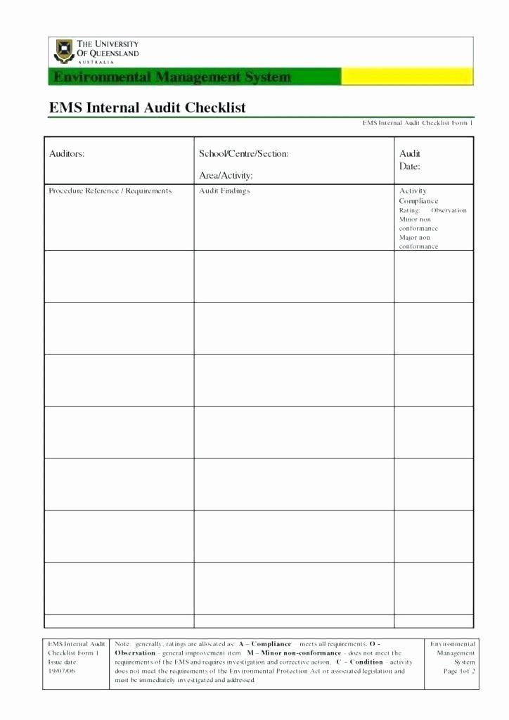 Compliance Audit Report Template Elegant Audit Templates