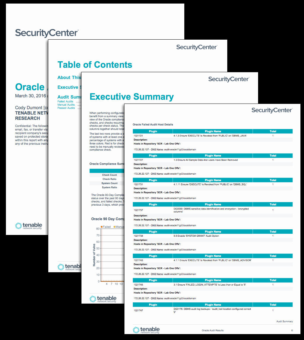 Compliance Audit Report Template New oracle Audit Results Sc Report Template