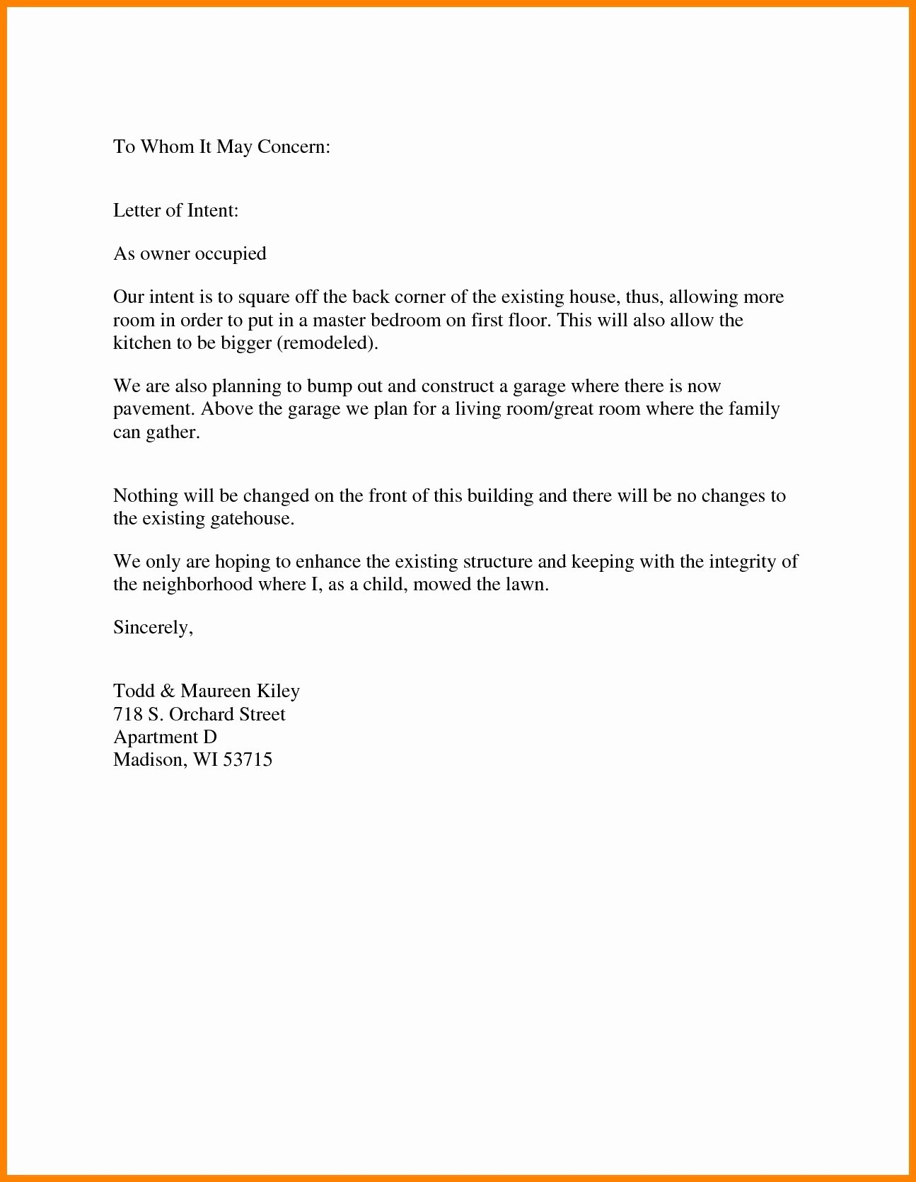 Concerned Letter Sample Luxury Business Letter format to whom It May Concern