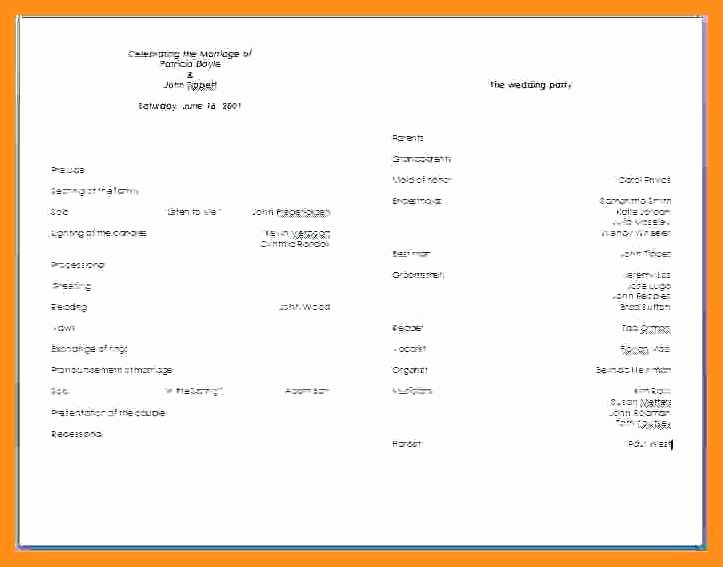 Concert Program Template Free Elegant 10 11 Concert Program Word Template