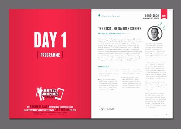 Conference Program Booklet Template Inspirational 160 Best Program Layout Images On Pinterest