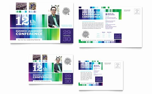 Conference Program Booklet Template New Business Leadership Conference Brochure Template Design