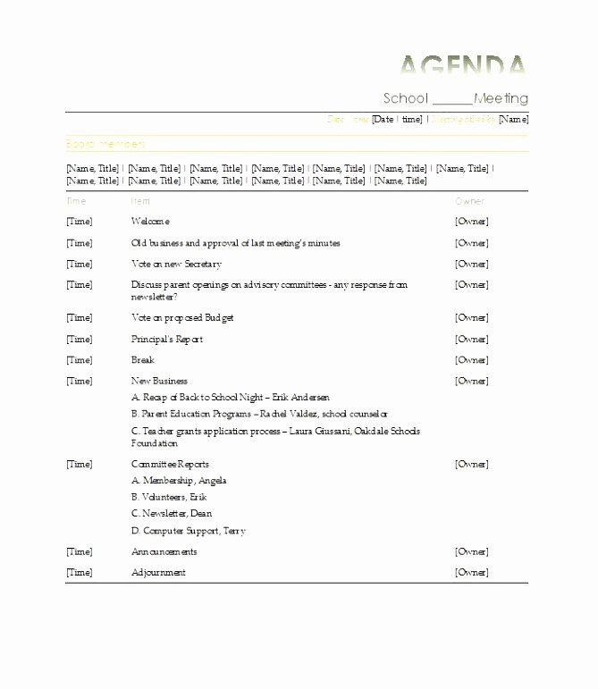 Construction Meeting Minutes Template Inspirational 5 Pre Construction Meeting Agenda Template Eiyye