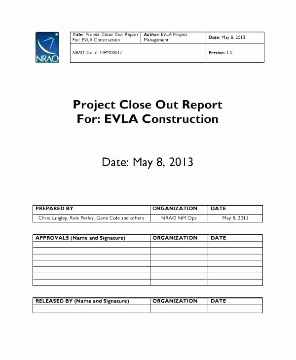 Construction Project Closeout Template Best Of Project Closeout Template Collections Line Family Tree