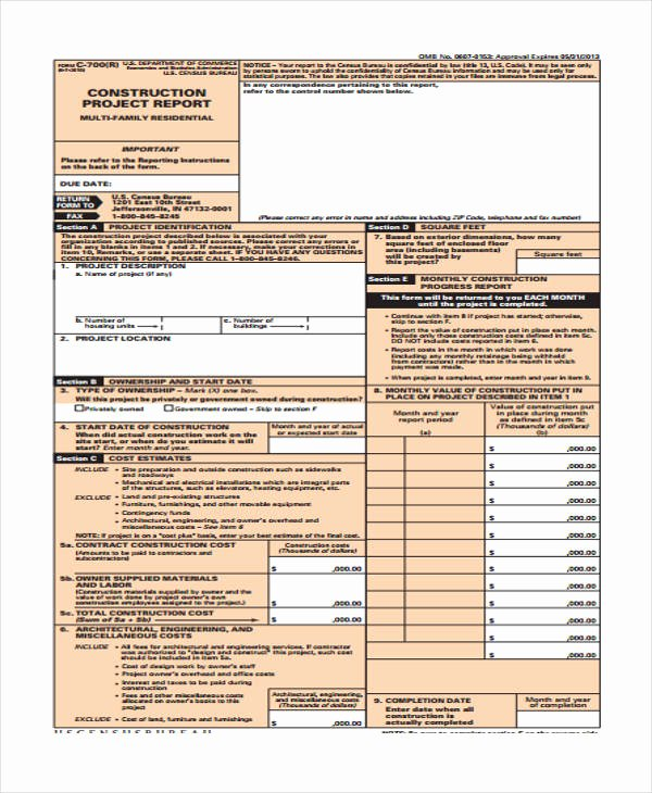 Construction Project Closeout Template Fresh 27 Printable Expense Report forms