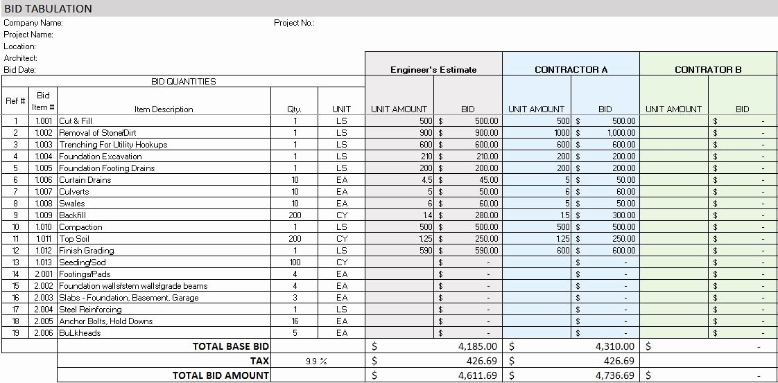 Construction Project Management Templates Fresh Free Construction Project Management Templates In Excel
