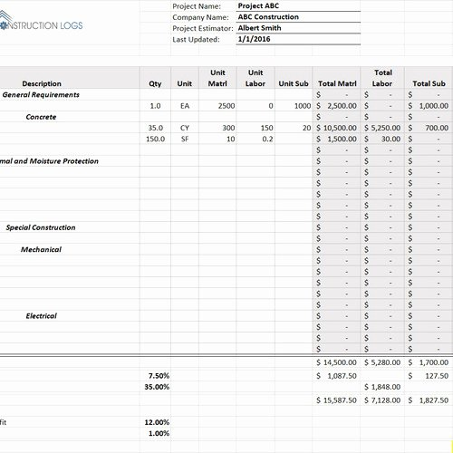Construction Submittal form Template Fresh Submittal form Template