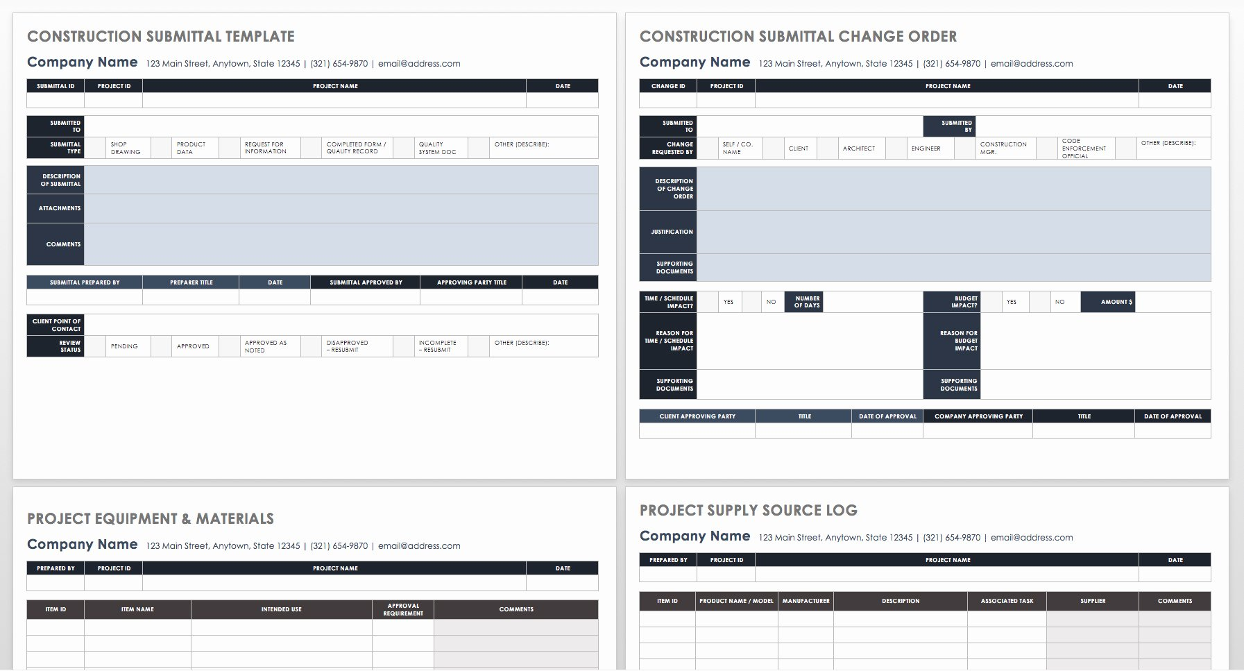 Construction Submittal form Template Inspirational How to Manage Construction Submittals