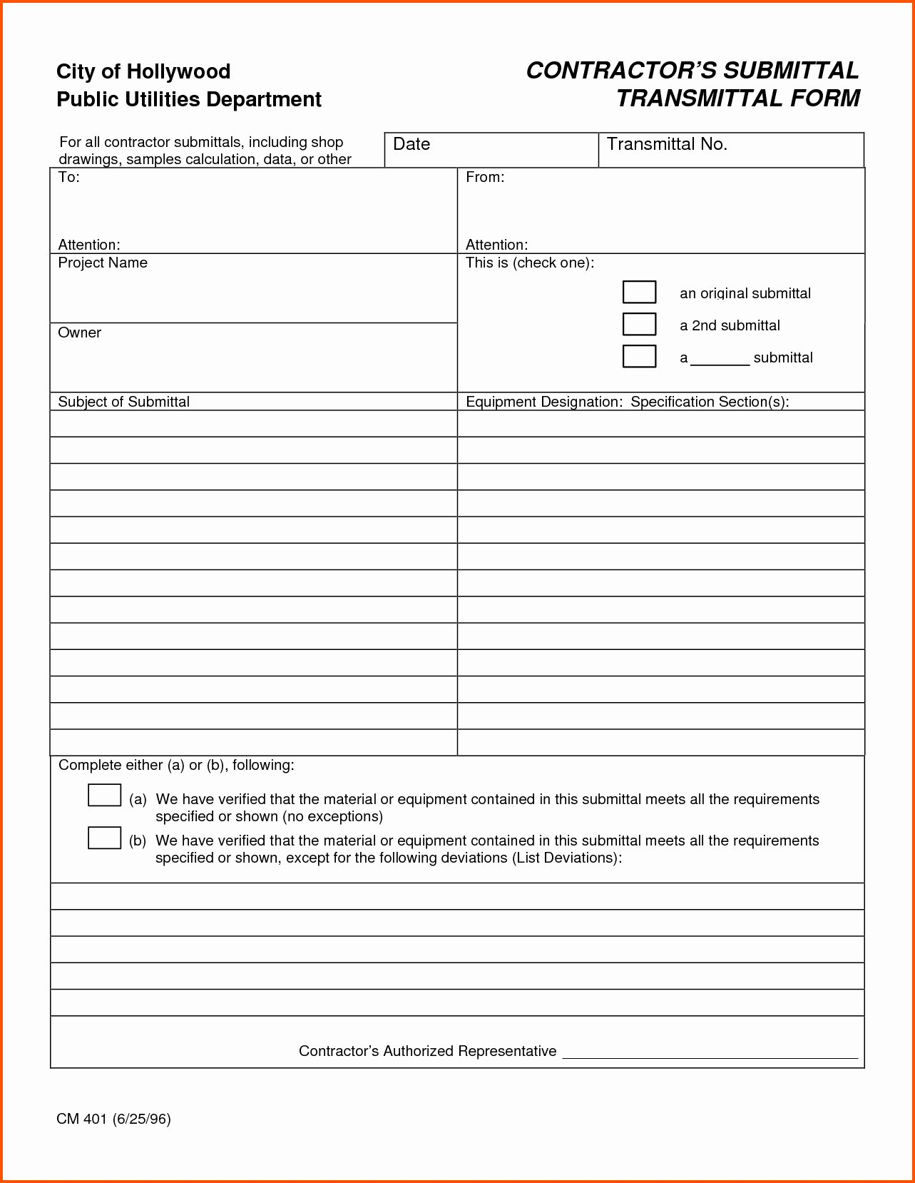 Construction Transmittal form Template Elegant Letter Transmittal Template Construction Samples