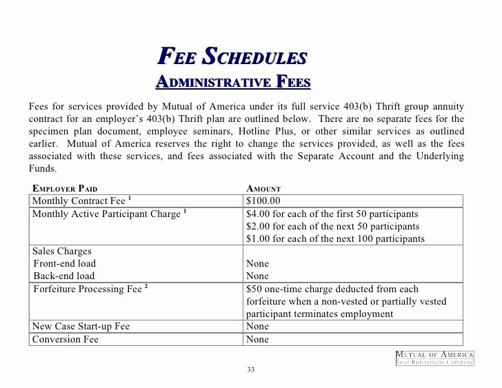 Consultant Fee Schedule Template Best Of Sample Full Service Proposal